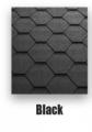 Sindrila bituminoasa  hexagonal negru Classic KL