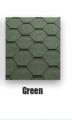 Sindrila bituminoasa hexagonal verde Classic KL