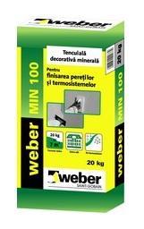 Tencuiala Decorativa Weber.Weber Min 100 Tencuaial Decorativa Menson Union