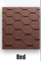 Sindrila bituminoasa hexagonal rosu Classic KL